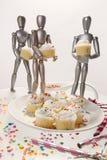 Gâteaux 4 simulacres Photographie stock libre de droits