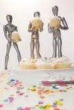 Gâteaux 4 simulacres Photographie stock