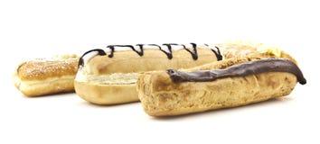 Gâteaux assortis de crème de freash Image stock