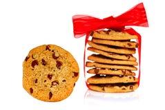 Gâteaux aux pépites de chocolat photographie stock libre de droits