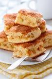 Gâteaux aux pommes photographie stock libre de droits