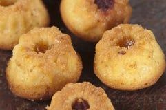 Gâteaux avec la confiture Images libres de droits