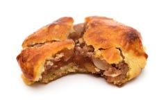Gâteaux caoutchouteux doux ou le chickee de vue de côté les mini durcit avec une morsure photos stock