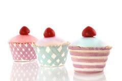 Gâteaux décoratifs de fantaisie image libre de droits
