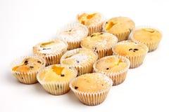 Gâteaux d'abricot photo stock