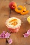 Gâteaux d'abricot image stock