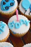 Gâteaux d'anniversaire Image stock