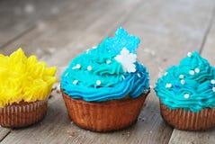 Gâteaux d'anniversaire doux de Noël de Pâques Image stock
