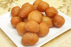 Gâteaux d'Awama Ramadan Photos stock