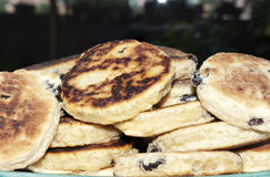 Gâteaux d'Obturation cuits Image libre de droits