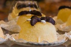 Gâteaux d'osei du Polenta e Photos stock