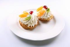 Gâteaux de bon goût Photo stock