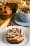 Gâteaux de café photos libres de droits