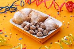 Gâteaux de carnaval photographie stock libre de droits