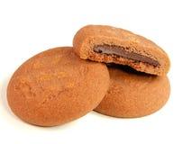 Gâteaux de chocolat Images libres de droits