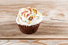 Gâteaux de chocolat Photos libres de droits