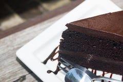Gâteaux de chocolat délicieux Photographie stock