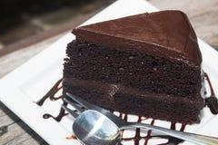 Gâteaux de chocolat délicieux Photos stock