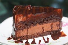 Gâteaux de chocolat délicieux Image stock