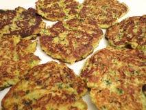 Gâteaux de courgette Image stock