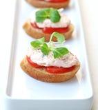 Gâteaux de crabe Photos stock