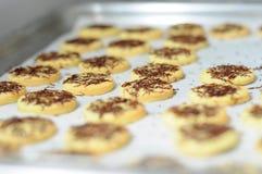 Gâteaux de cuisson Photographie stock libre de droits