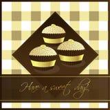 Gâteaux de cuvette Photographie stock libre de droits