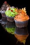 Gâteaux de cuvette Images stock