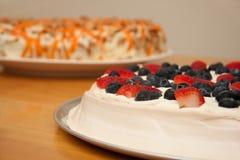 Gâteaux de désert Photo stock