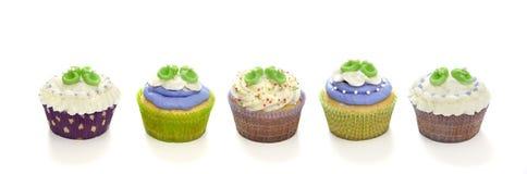 Gâteaux de douche de chéri Photo libre de droits