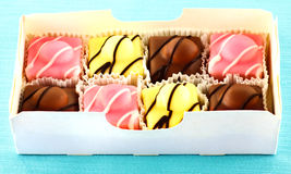 Gâteaux de fantaisie Photos stock