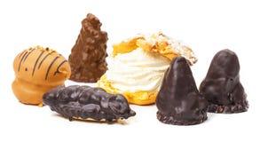 Gâteaux de fantaisie photo stock