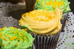 Gâteaux de fantaisie Photographie stock libre de droits