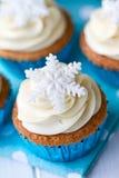 Gâteaux de flocon de neige Images libres de droits
