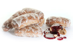 Gâteaux de fruits Image libre de droits