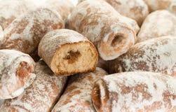 Gâteaux de fruits Image stock