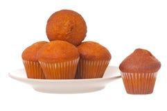 Gâteaux de fruits secs savoureux Images libres de droits