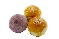 Gâteaux de jaune d'oeuf Photo stock