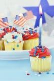 Gâteaux de Jour de la Déclaration d'Indépendance Photo stock