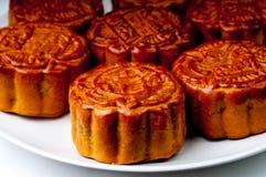 Gâteaux de lune chinois Images libres de droits