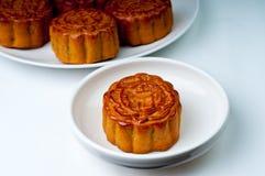 Gâteaux de lune chinois Images stock