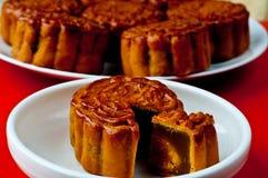 Gâteaux de lune chinois Photo stock