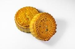 Gâteaux de lune chinois Image libre de droits