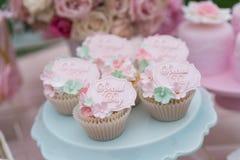 Gâteaux de mariage Image stock