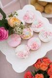 Gâteaux de mariage Photographie stock