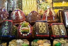 Gâteaux de mariage sud-coréens Photo stock