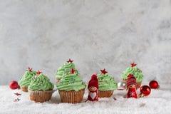 Gâteaux de Noël Photographie stock