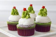 Gâteaux de Noël photographie stock libre de droits