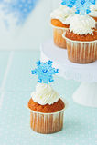 Gâteaux de Noël Photo stock