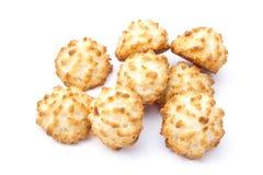 Gâteaux de noix de coco Images libres de droits